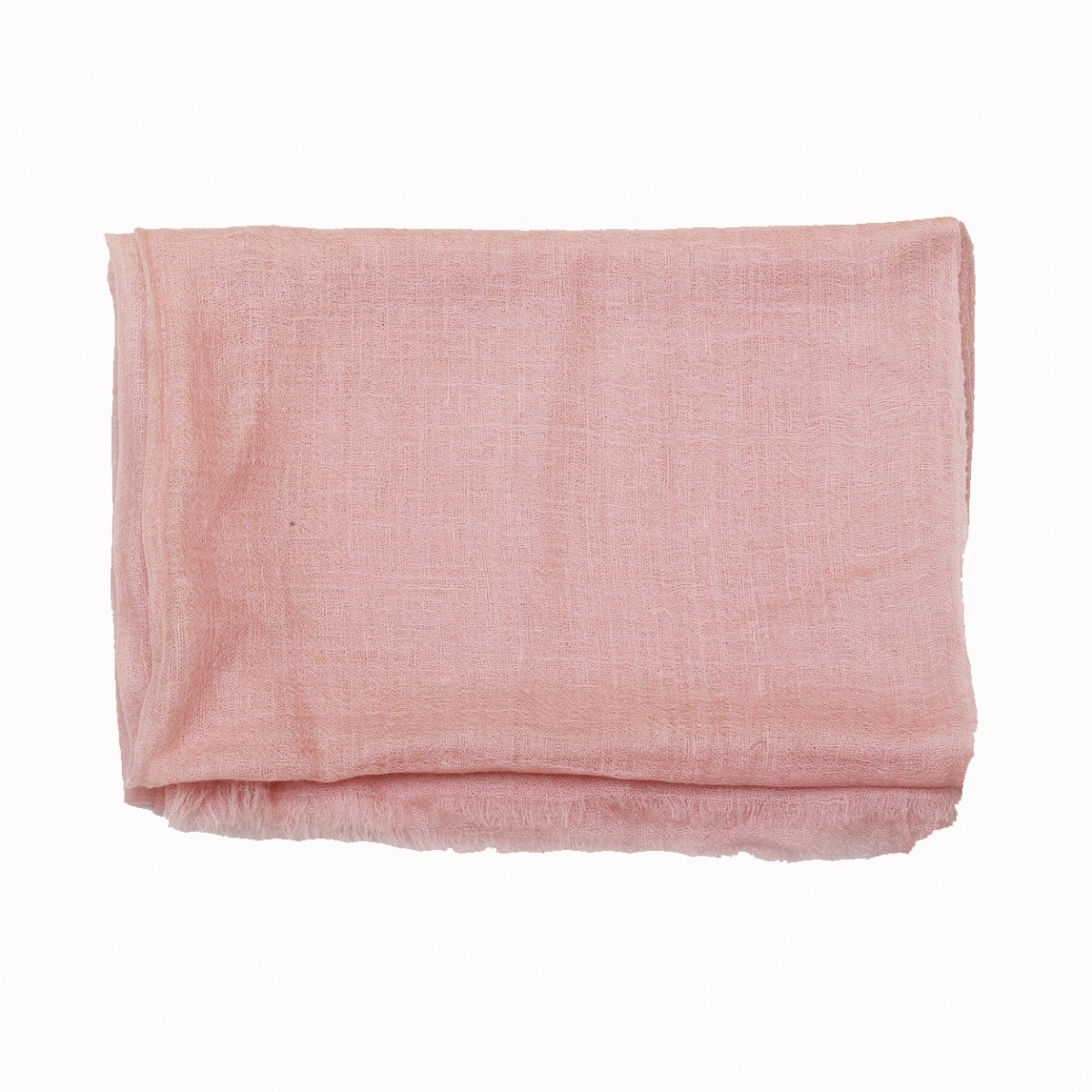 Dusty pink sheer pashmina scarf