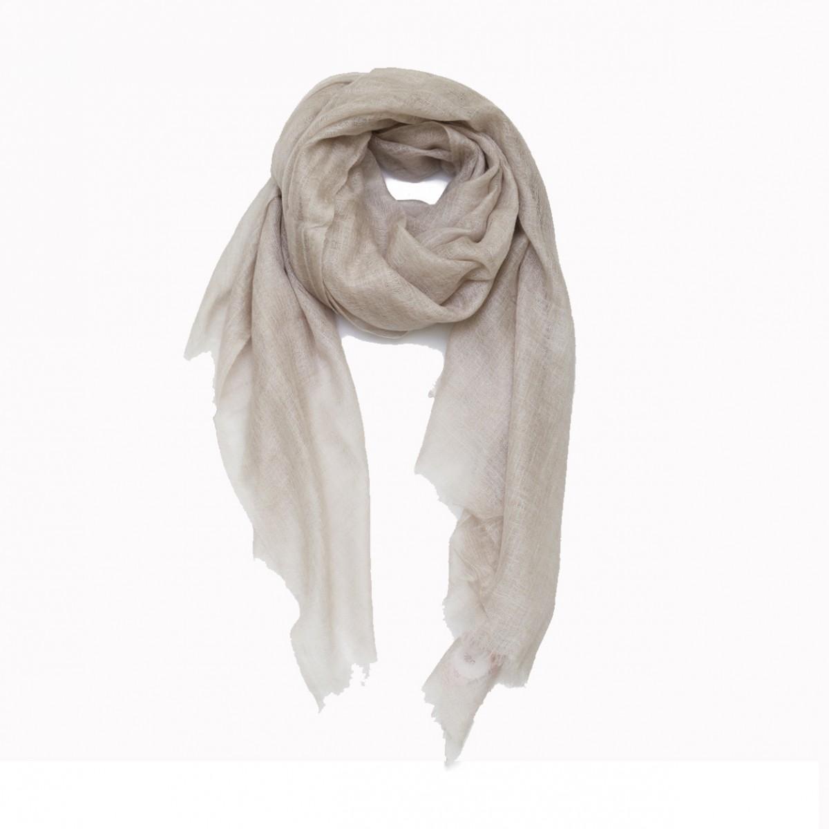 Brown blush summer pashmina scarf