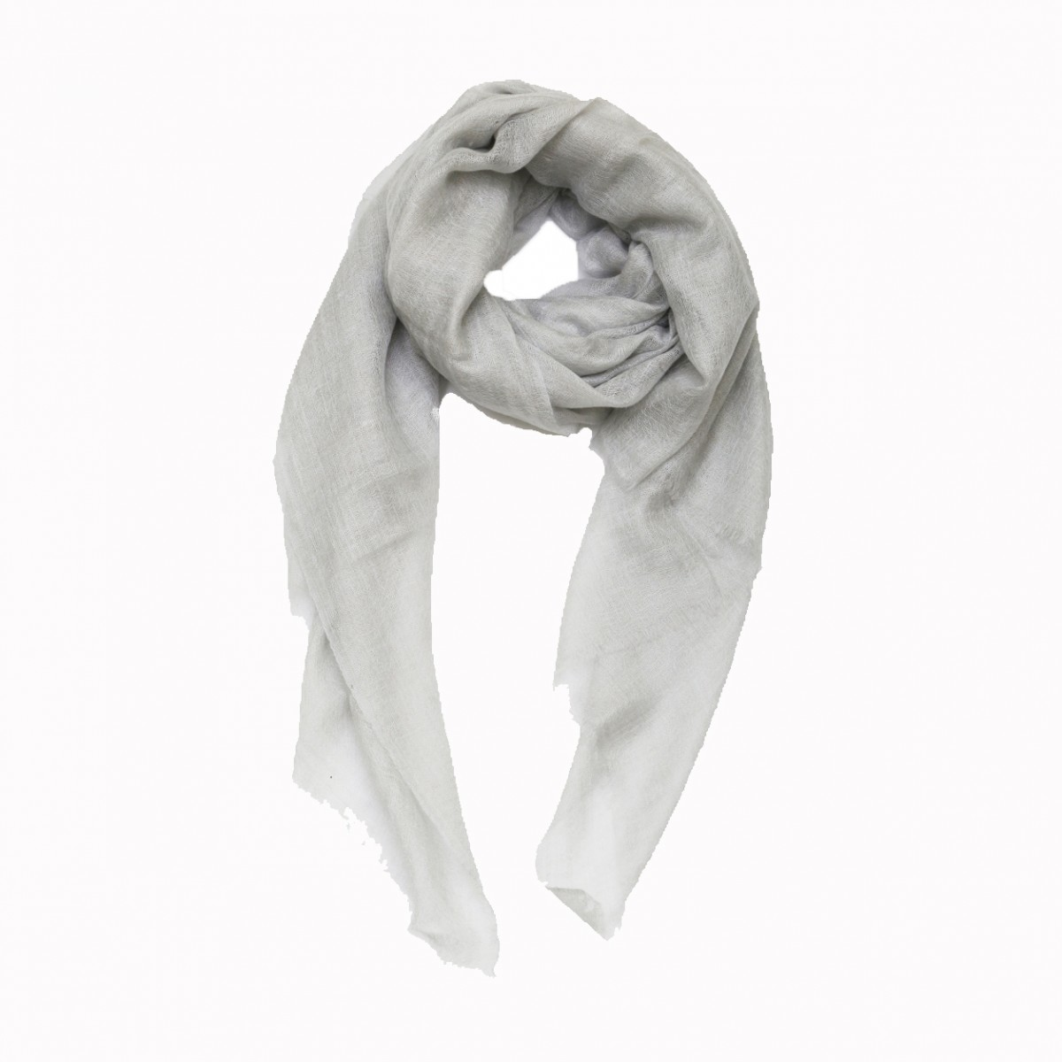 Clear water blue summer pashmina scarf