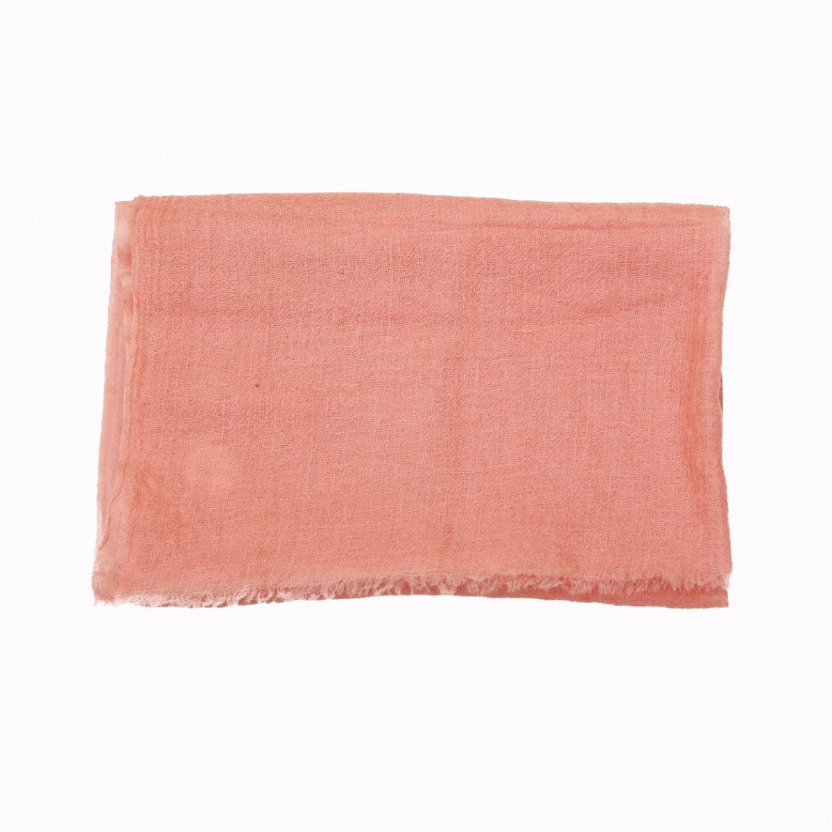 Sheer Pashmina Scarf - Apricot Blush