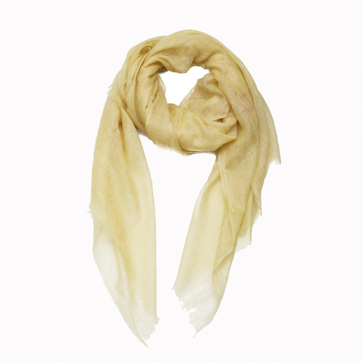 Lemon meringue summer pashmina scarf
