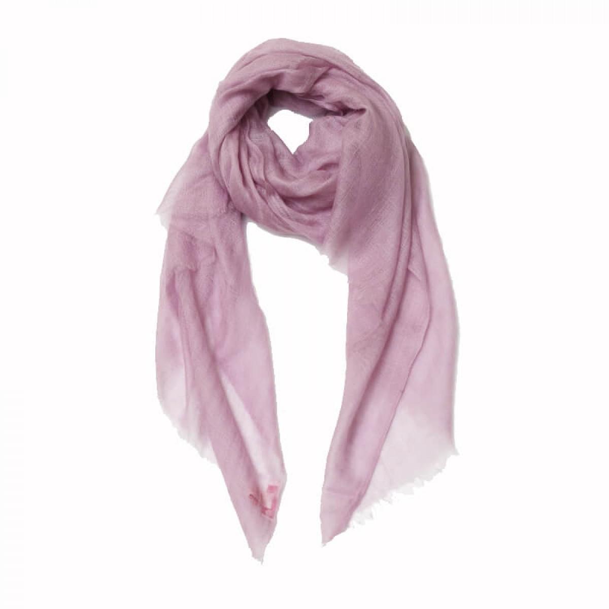 Lilac summer sheer pashmina scarf
