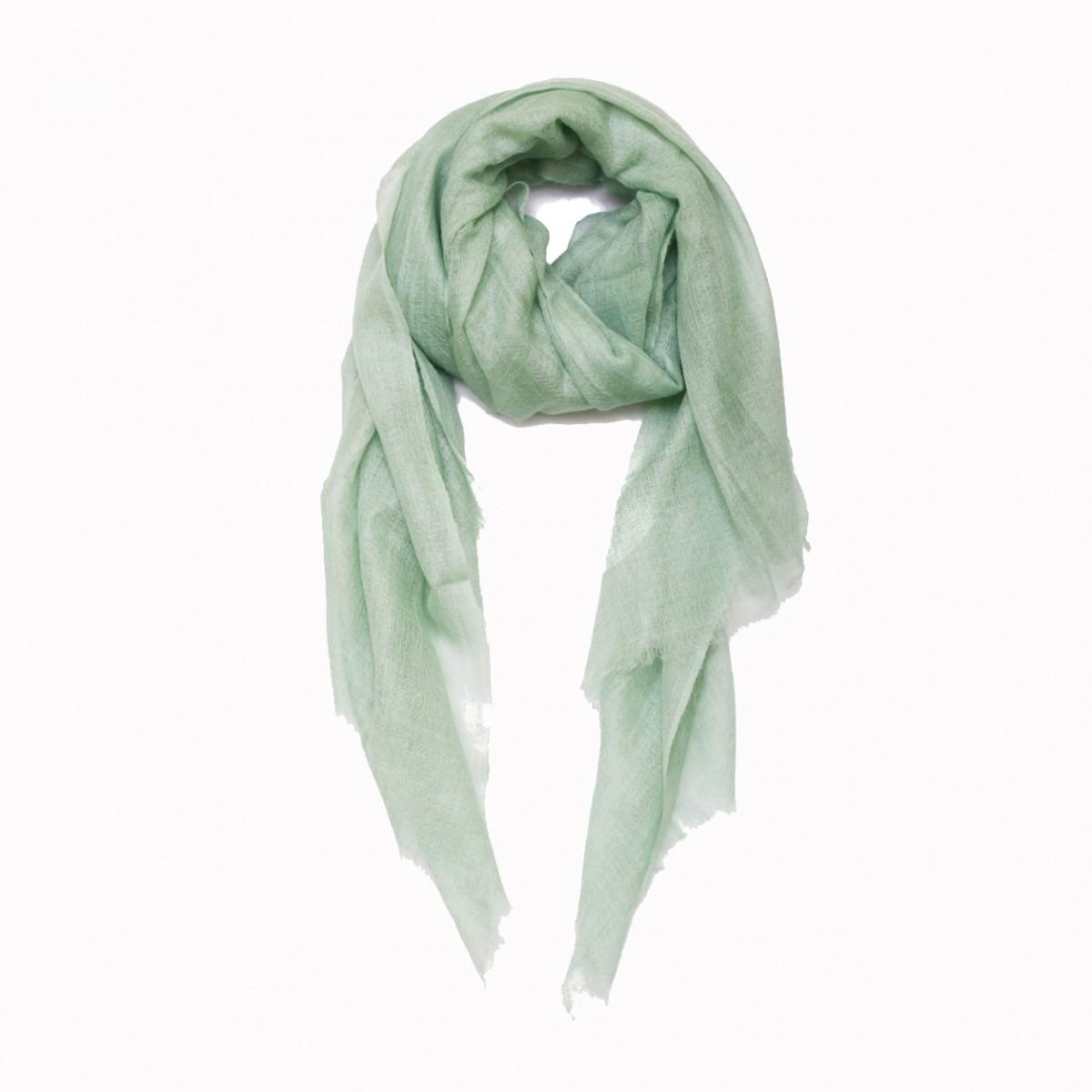 Mint green summer pashmina