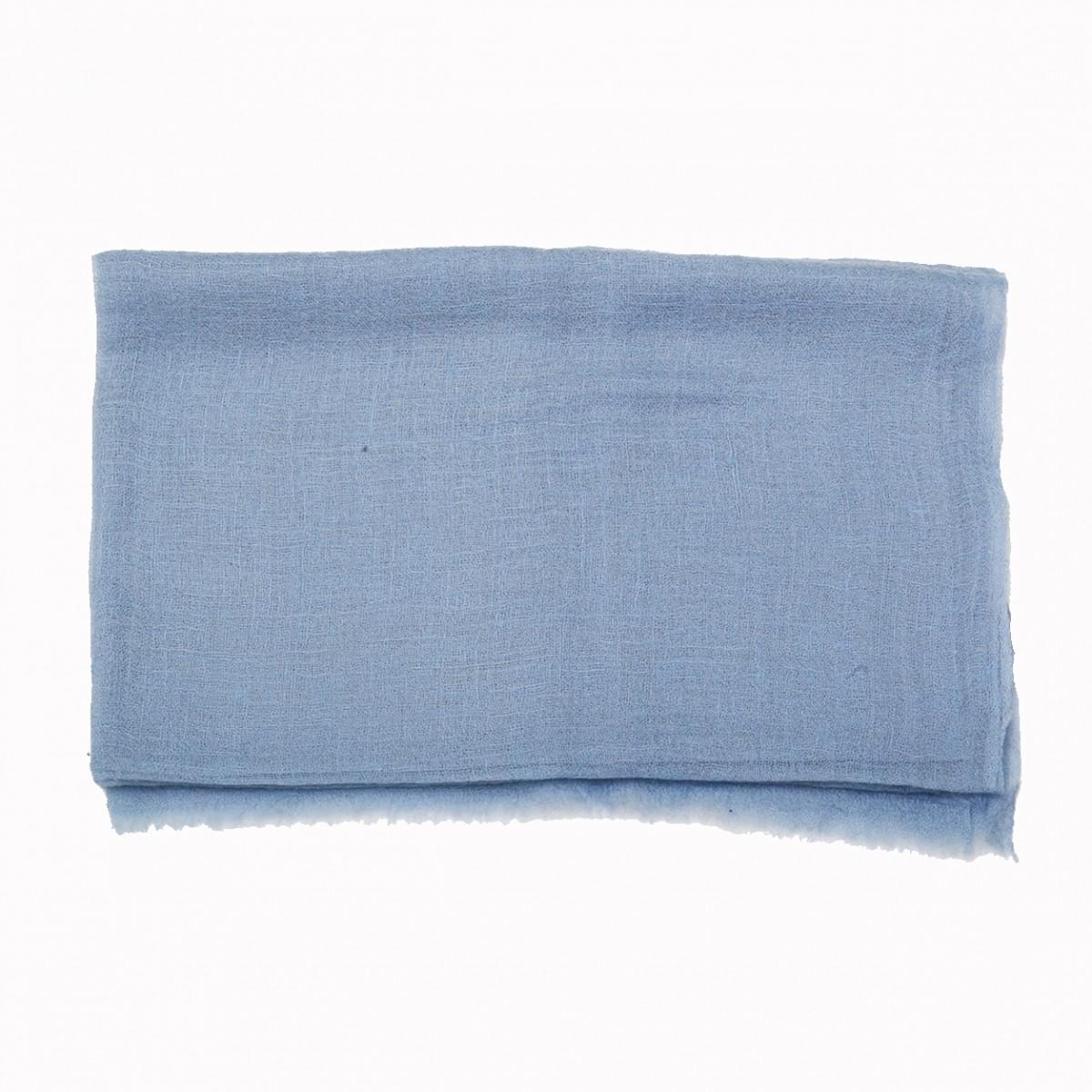 Sheer Pashmina Scarf - Serenity Blue