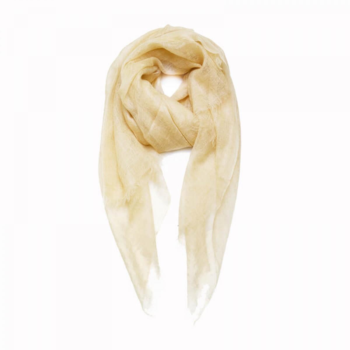 Sheer Pashmina Scarf - Ivory