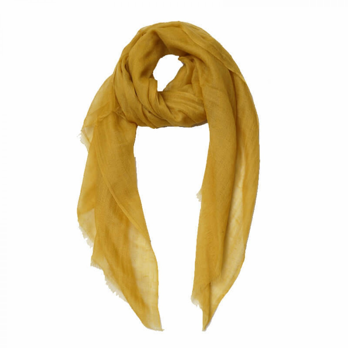 Sheer Pashmina Scarf - Honey