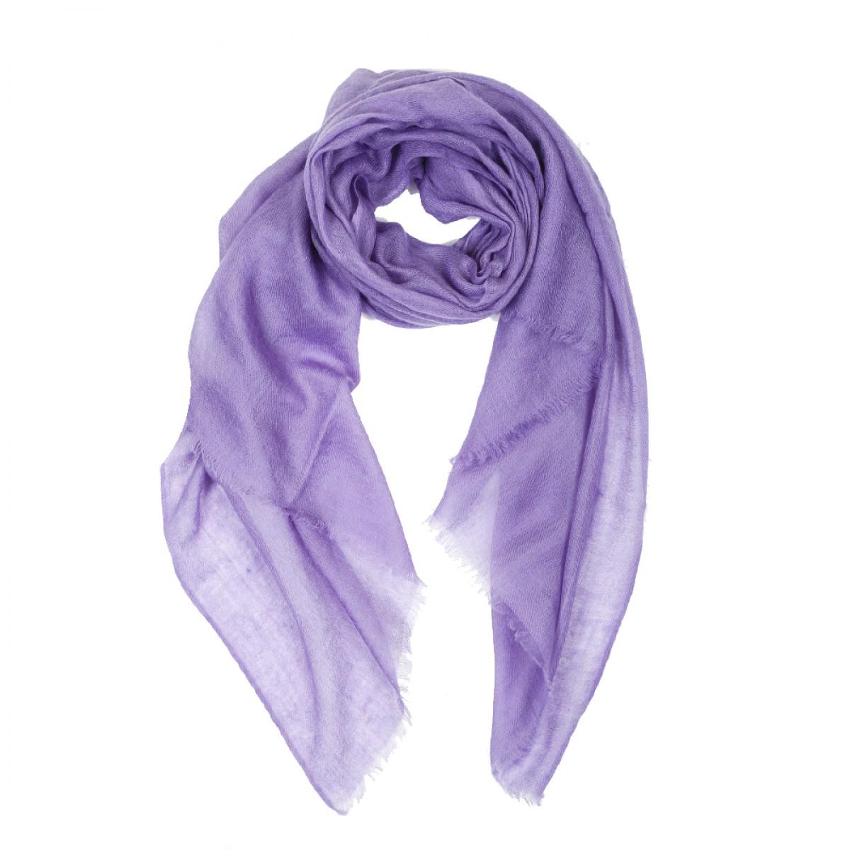 Sheer Pashmina Scarf - Lavender
