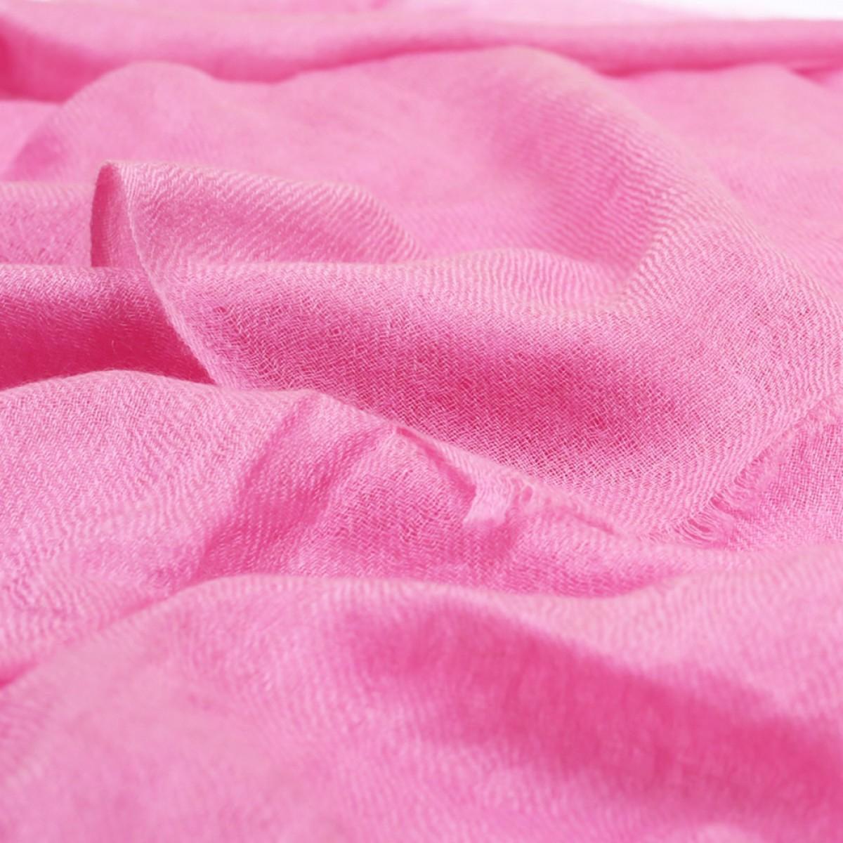 Sheer Pashmina Scarf - Peony Pink