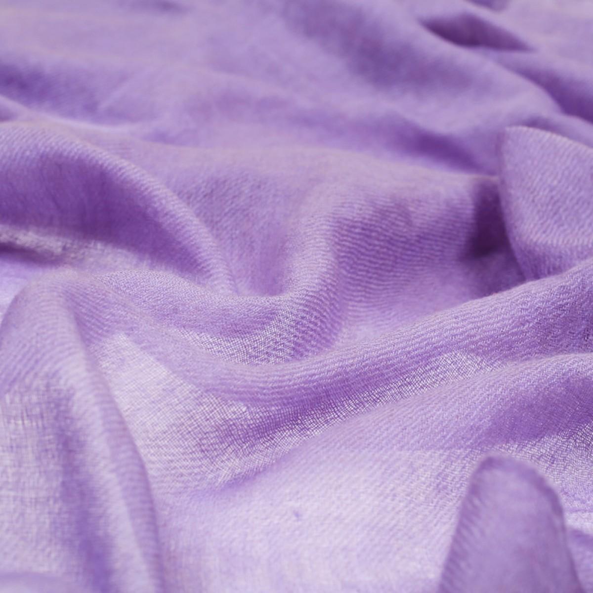 Sheer Pashmina Scarf - Purple