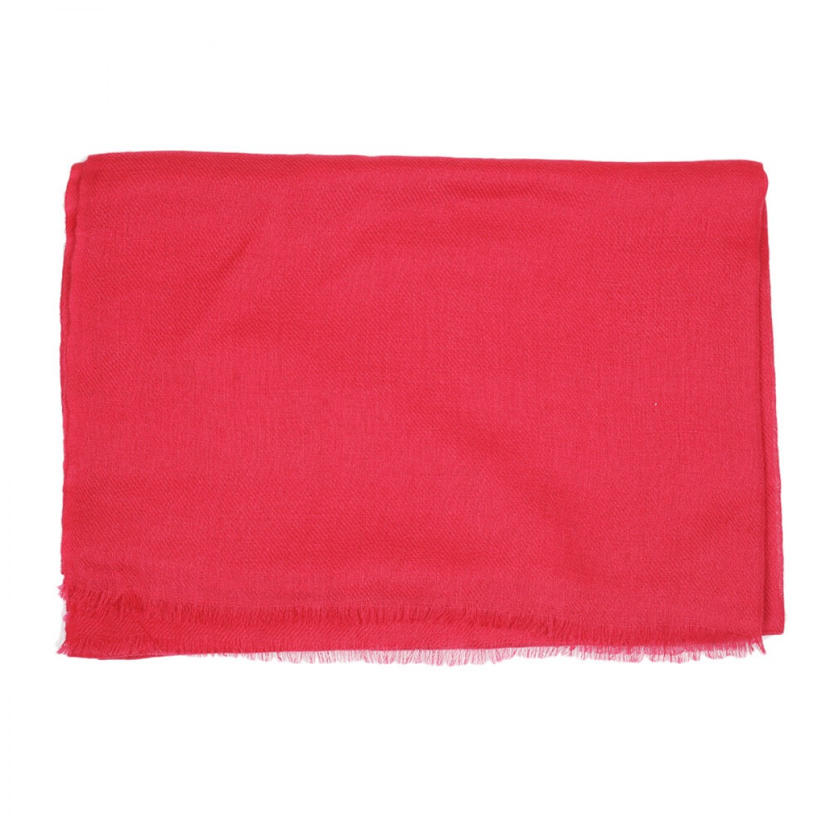 Sheer Pashmina Scarf - Raspberry Red