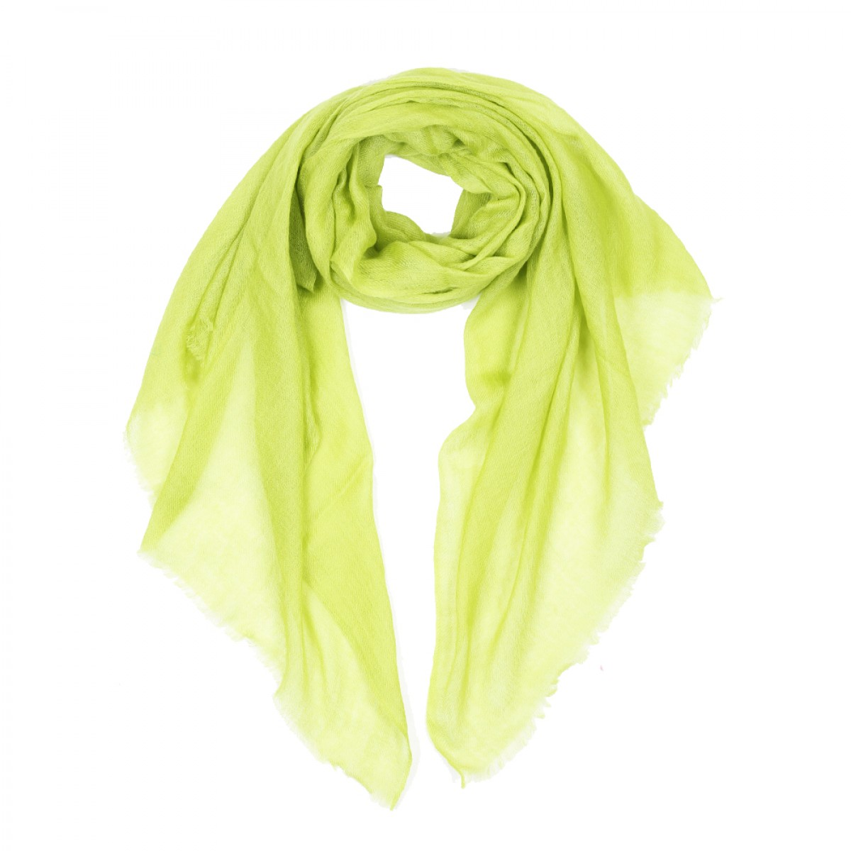 Sheer Pashmina Scarf - Green Tea