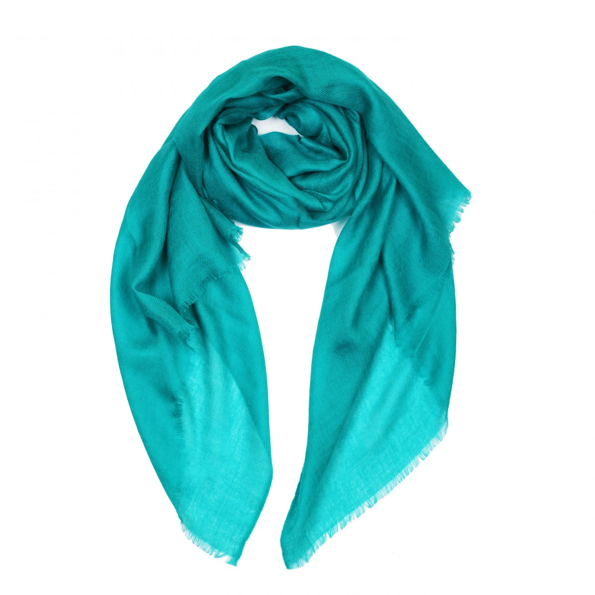 Sheer Pashmina Scarf - Adriatic Sea Blue