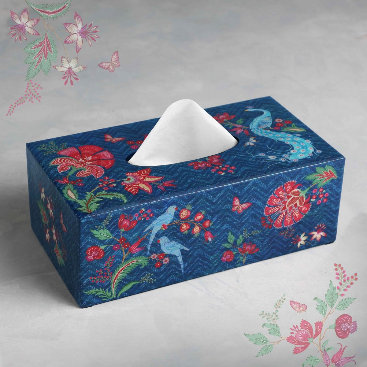 Tissue Box - Blue