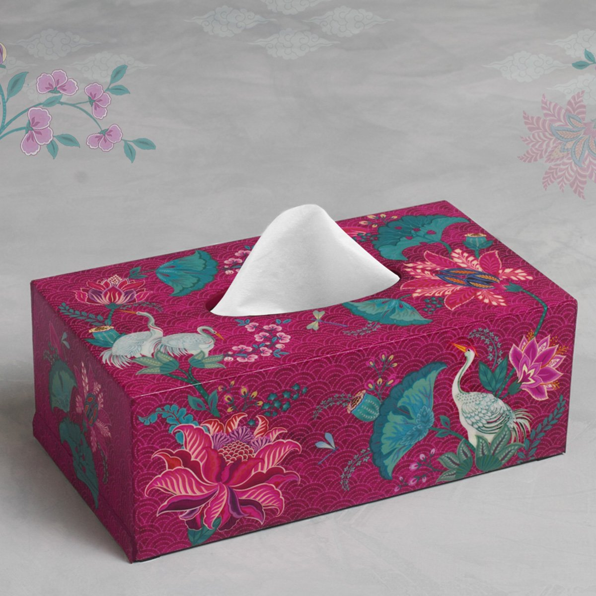Tissue Box - Ruby
