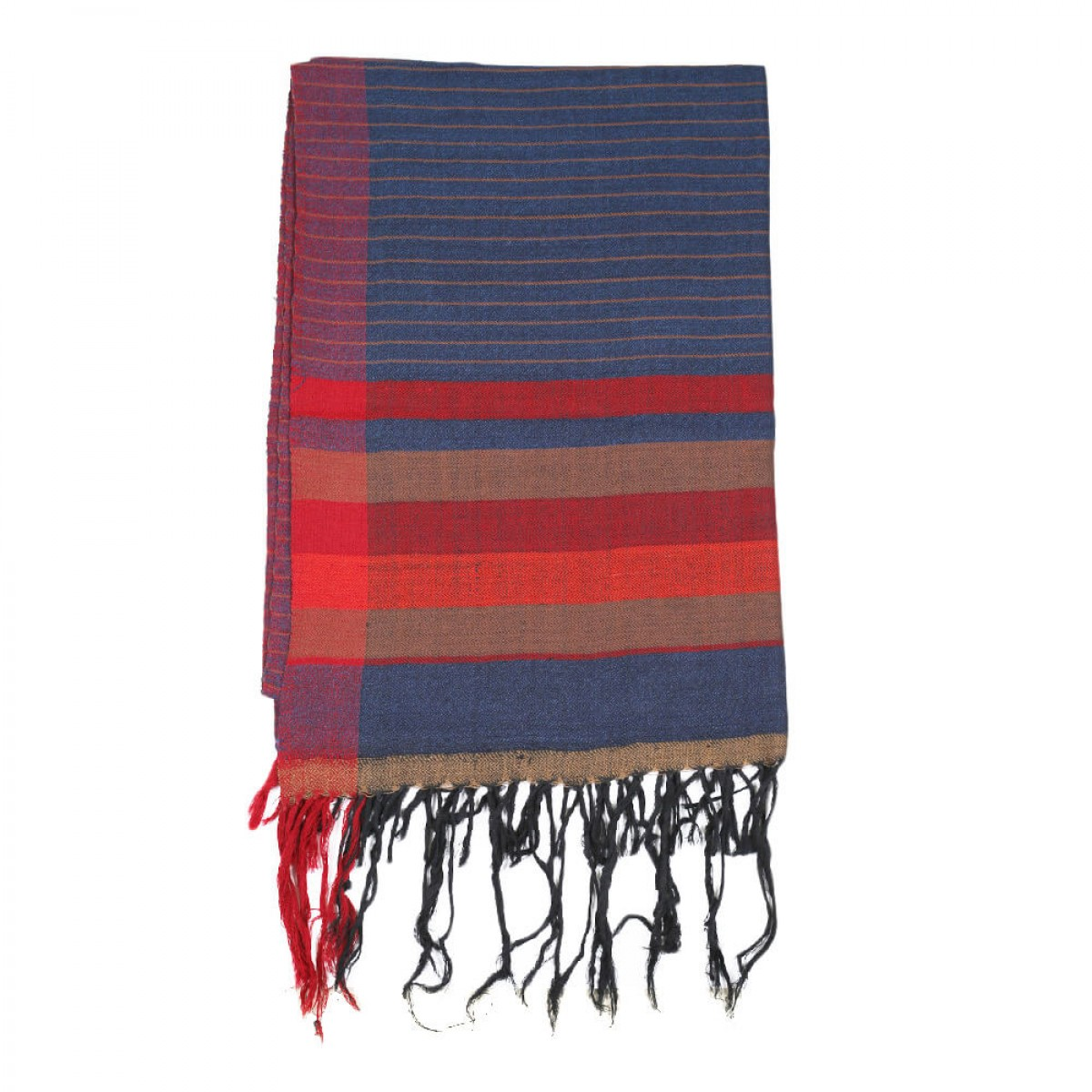 Himalayan Vibes Woolen Scarf - Stripes