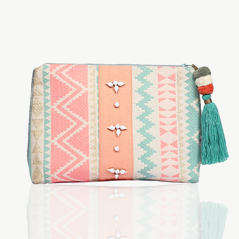 Forever Summer Pouch - Peach