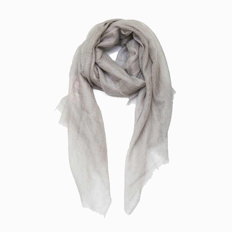 Sheer Pashmina Scarf - Fog Grey