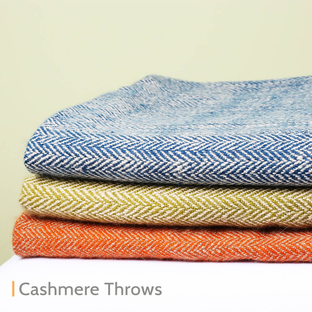 Cashmere Pashmina Throws Online